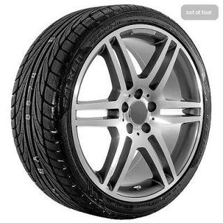 19 Gunmetal Mercedes AMG 2009 C E S SL wheels rims and tires