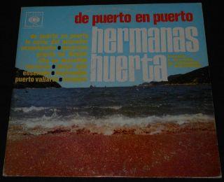 LP HERMANAS HUERTA De puerto en puerto CBS mariachi jalisco
