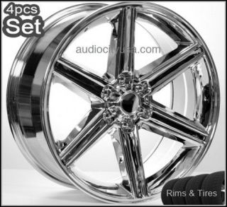 20 6LUG IROC Wheels and Tires Escalade,Chevy,Rims,H3,Silverado