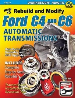 Build Performance Ford C4 & C6 Transmissions   Street or Race   DIY
