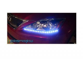 10874 Plasmaglow Lightning Eyes LED Headlight Kit   PURPLE for 08 up