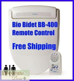 BB 400 OVAL Toilet Seat Jet Wash Hygiene Remote Control Harmony New