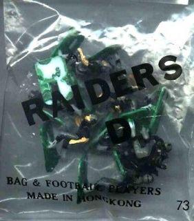 Tudor Electric Football Oakland Raiders D HK 1970s