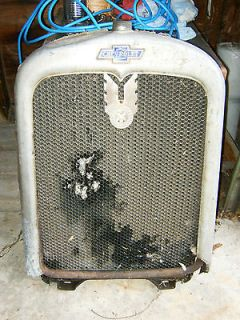 Grille ORIGINAL Badge Radiator Shell Chevy Grill Hot Rat Rod 1928