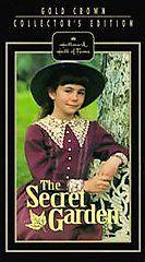 The Secret Garden VHS, 1992
