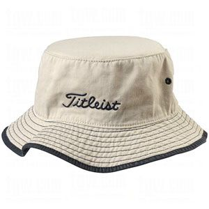 TITLEIST BUCKET HATS STONE SM/MD