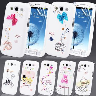 New Stylish Full Body Series Hard Case Cover For Samsung Galaxy S3