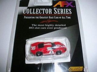 NEW AFX TOMY GT 40 HO SLOT CAR #3 GURNEY MEGA G MINT CONDITION