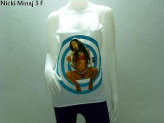 Woman Tank Top Shirt Dress Rock Punk Indie Rapper Hiphop Pop Dancer