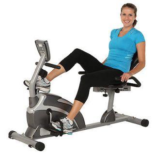 Stationary Recumbent Bike Exercise Indoor Fitness Trainer New