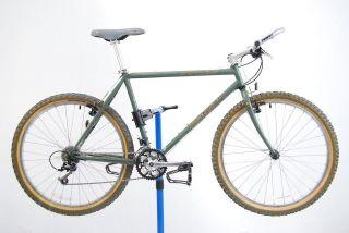 1994 Specialized Stumpjumper grey green 19 mountain bike mtb steel LX