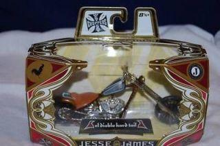 James West Coast Choppers ♥ El Diablo Hard Tail ♥ Rust & Blu 6