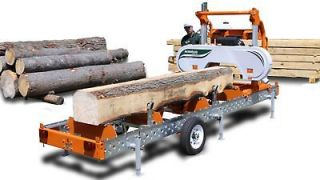 PORTABLE SAWMILLS – NEW NORWOOD MANUAL BAND SAWMILL (CONVERTIBLE TO