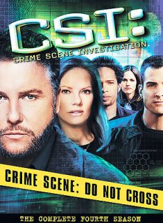 CSI Crime Scene Investigation   The Complete Fourth Season DVD, 2004