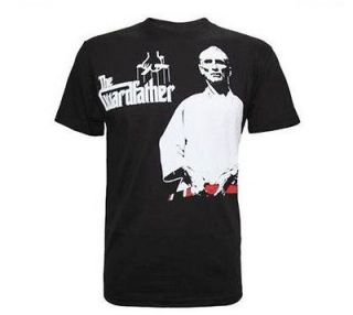 GRACIE ACADEMY THE GUARD FATHER JIU JITSU SHIRT BLACK SIZES S, M, L
