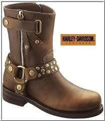 ladies harley davidson boots 7