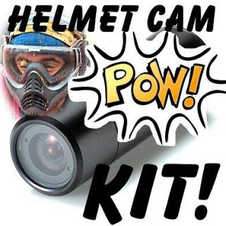 SONY BASED HELMET CAMERA KIT CAM FOR CYCLING SPORTS / DRIVING RACING
