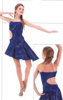 Ballety Lyrical Ice Skating Dance Dress Costume TEACHER GROUPS CM A2XL