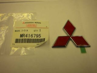 mitsubishi eclipse emblem in Decals, Emblems, & Detailing