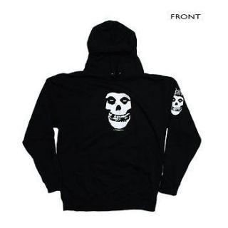 The Misfits   Skull Logo Hoodie Sweatshirt