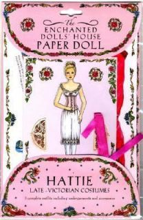 The Enchanted Dolls House Paper Dolls Hattie Late Victorian Costumes