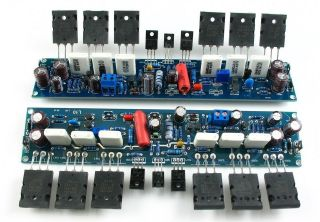 Assembled Stereo L10 Power Amplifier 200W+200W 4ohm AMP