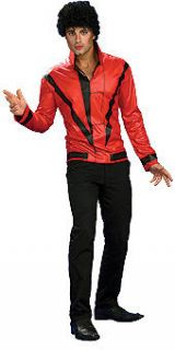Michael Jackson Thriller Red Jacket Halloween Costume Adult MJ Outfit