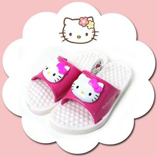 Hello Kitty Kids Bathroom Slippers Size 200mm Made in Korea Cute