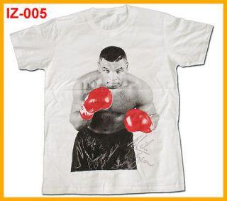 indeez  IZ 005 MIKE TYSON t shirt,White,L