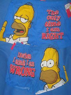 HOMER SIMPSON The Simpsons movie cartoon MENS New Boxer Shorts