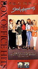 Steel Magnolias VHS, 1999, Closed Captioned Box Office Hits Collection