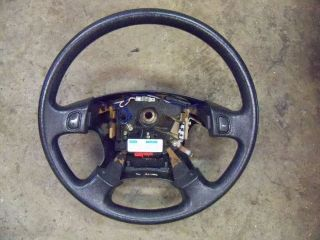 94 Honda Prelude SI OEM Steering Wheel Black
