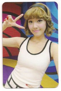 SNSD Girls Generation Hoot photo card Jessica TYPE B