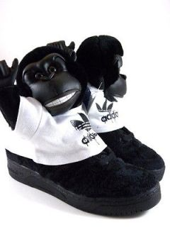 Adidas Jeremy Scott JS Limited Gorilla Black/White Fashion Sneakers