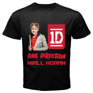 New Black T Shirt Niall Horan One Direction Boy Band S,M,L,XL,2XL,3XL