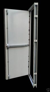Point Panic Emergency Fire Exit High Security Steel Door Set Doors