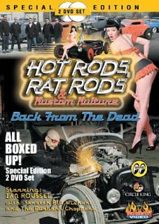 Hot Rods, RAT Rods Kustom Kulture Back From The Dead DVD, 2007, 2 Disc