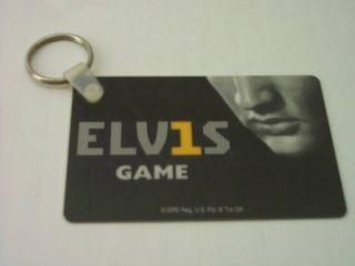 VINTAGE ELVIS PRESLEY HARRAHS CASINO TELEPHONE CARD WITH METAL KEY