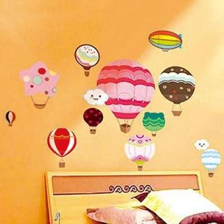 Newly listed G Hot Air Balloon Home Nursery Room Wall Sticker Decor