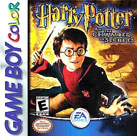 Harry Potter and the Chamber of Secrets Nintendo Game Boy Color, 2002