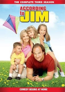 According to Jim The Complete Third Season (DVD, 2011, 4 Disc Set)