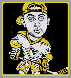 Mac Miller Pittsburgh Penguins shirt snapback co huf supply diamond XL
