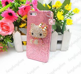 rhinestone hello kitty iphone case in Cases, Covers & Skins