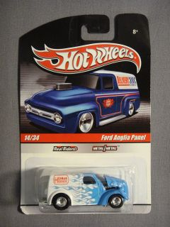HOT WHEELS REAL RIDERS FORD ANGLIA PANEL HEDMAN HEDDERS #14 DIECAST