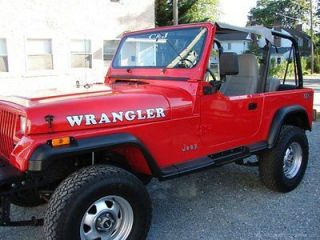 JEEP Wrangler hood or windshield decal (1 set)