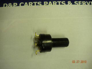 CLUB CAR GOLF CART KEY SWITCH DS GAS 96+UP 4 TERM  5702