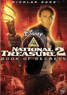 National Treasure 2 Book of Secrets DVD, 2008