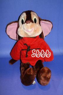 Caltoy  Vtg Plush Fievel 1986 An American Tail Mouse 20 Big Tale