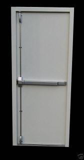 Point Panic Fire Exit High Security Steel Door Set Doorset Emergency