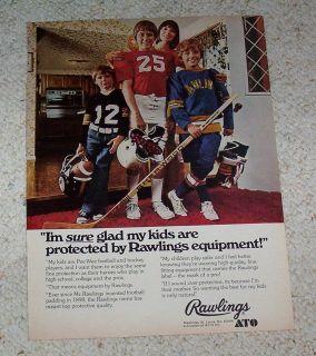 page   ATO Rawlings Sports Equipment Hockey Football boys PRINT ADVERT
